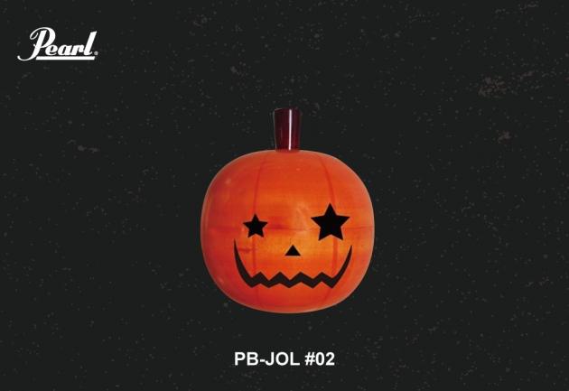 Pearl Jack-o'-lantern 造型沙鈴 3