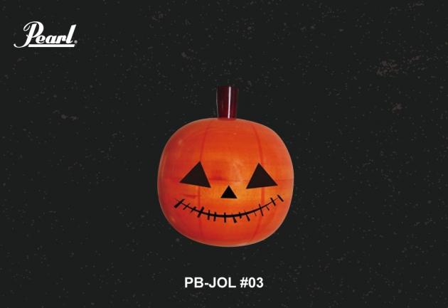 Pearl Jack-o'-lantern 造型沙鈴 4